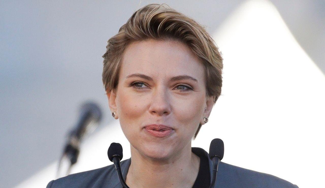 Scarlett Johansson en una foto de archivo