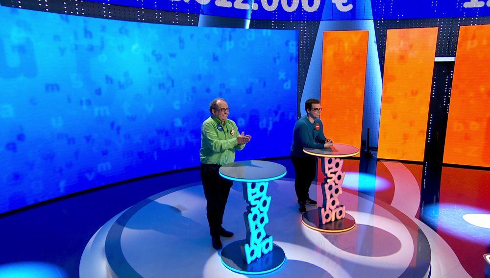 """Javier arriesga para intentar ganar a Pablo en 'El Rosco': """"Y si no es… a morir"""""""