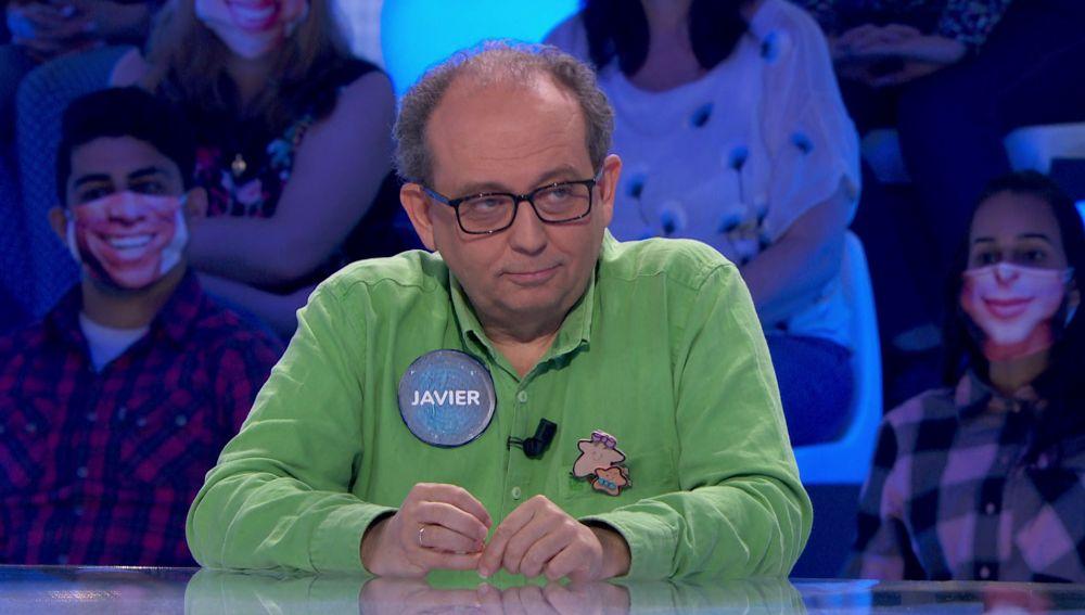 Los temores de Javier salen a la luz en 'Pasapalabra': Pablo y la 'Silla Azul'