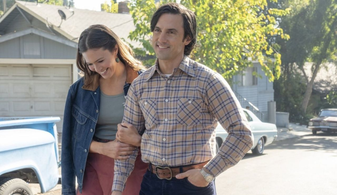 Mandy Moore y Milo Ventimiglia en 'This Is Us'