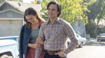 Mandy Moore y Milo Ventimiglia en 'This Is Us'