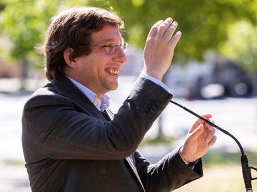 El alcalde de Madrid, José Luis Martínez-Almeida