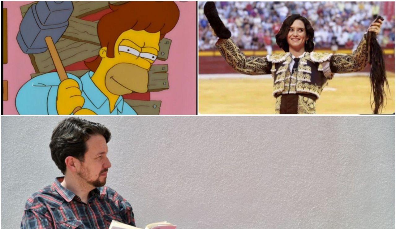 Los mejores memes del nuevo look de Pablo Iglesias tras cortarse la coleta