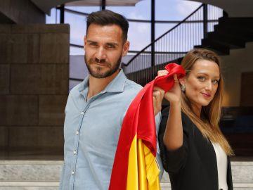 Saúl Craviotto y Mireia Belmonte, abanderados de España en los Juegos Olímpicos de Tokio