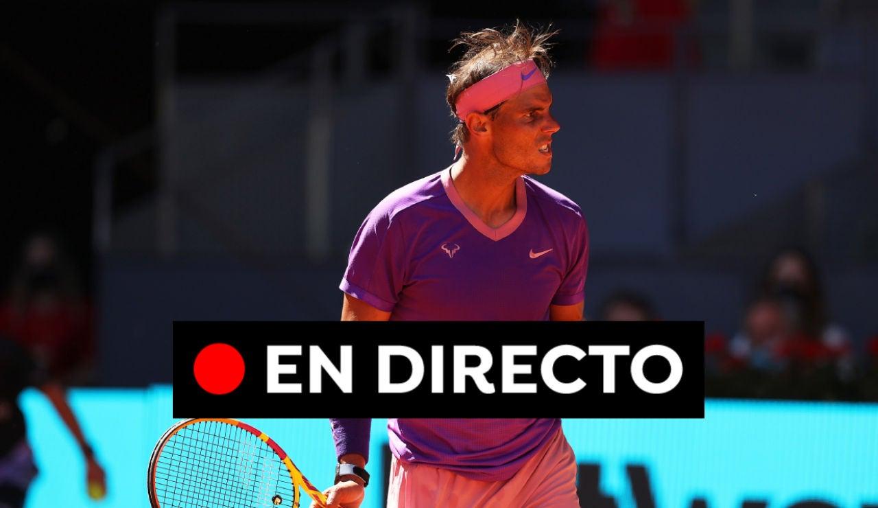 Denis Shapovalov - Rafa Nadal: octavos de final del Masters de Roma, en directo