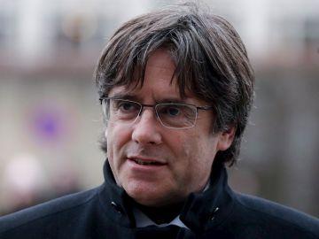 expresidente de la Generalitat de Cataluña Carles Puigdemont