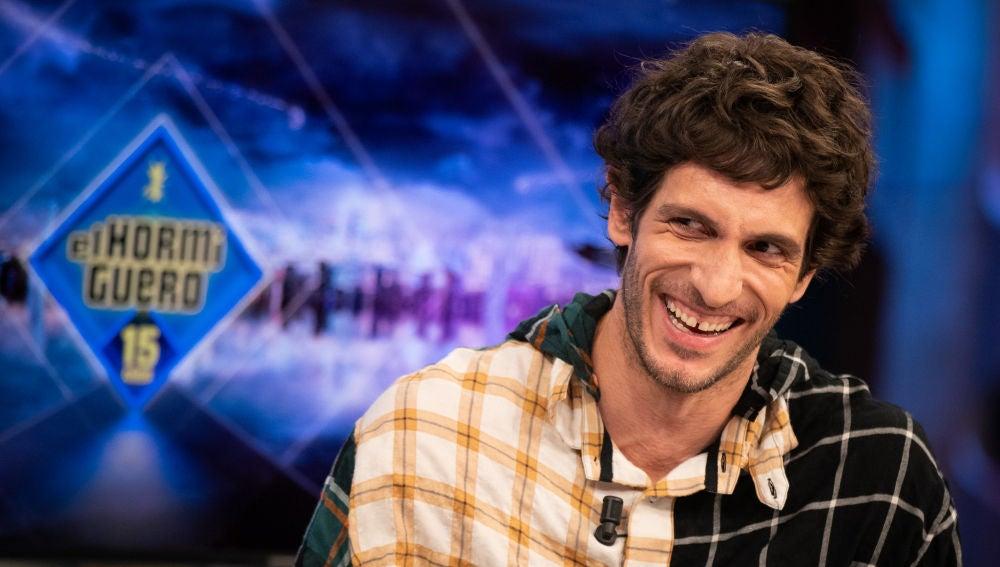 """Quim Gutiérrez presume de físico en 'El Hormiguero 3.0': """"Me da cosica"""""""