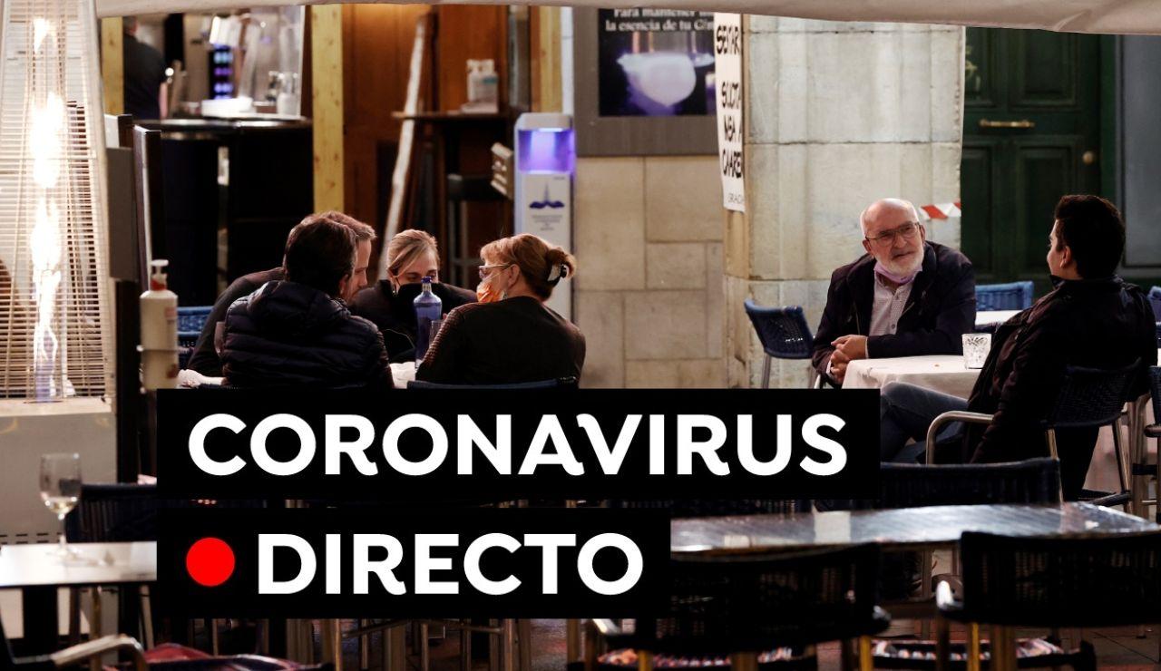 Coronavirus | Restricciones en Andalucía, Cantabria, Comunidad Valenciana, Madrid, Cataluña y ultima hora de la vacuna, en directo