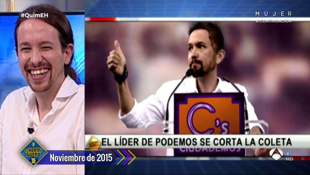 ¡Increíble! 'El Hormiguero 3.0' ya predijo el cambio de imagen de Pablo Iglesias