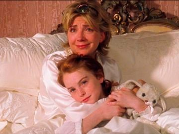 Lindsay Lohan yNatasha Richardson en 'Tú a Londres y yo a California'