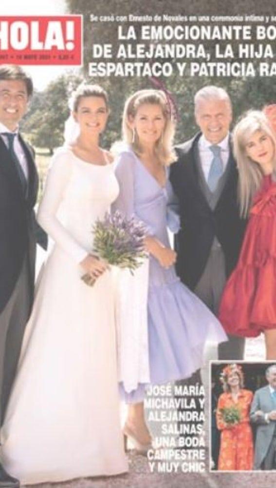 La boda de Patricia Rato