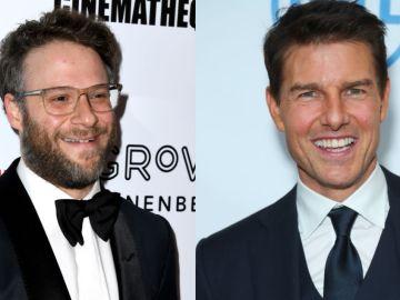 Seth Rogen y Tom Cruise