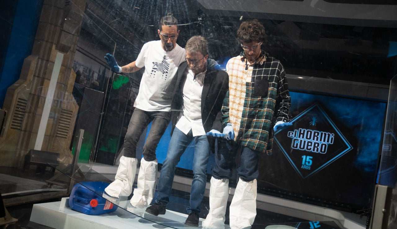 "¡Es indestructible! Marron trae a 'El Hormiguero 3.0' el ""supervidrio"""