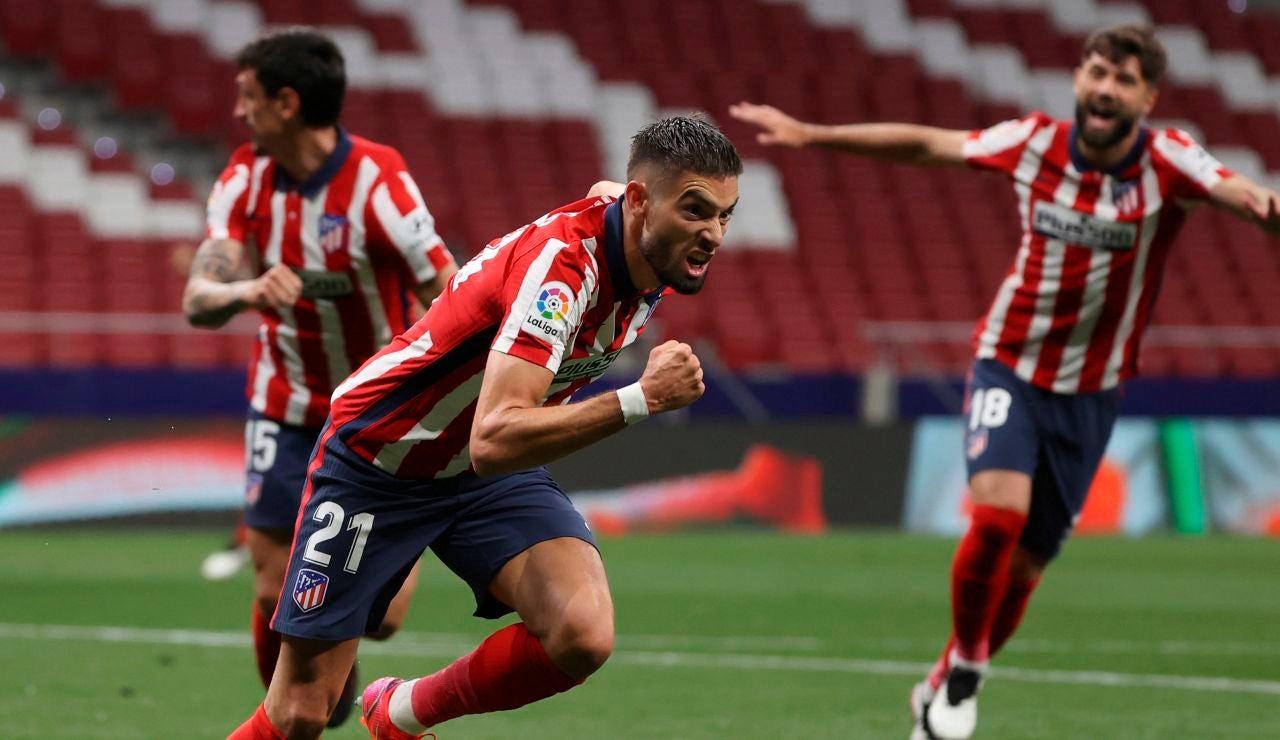 El Atlético de Madrid da un paso de gigante hacia el título de Liga