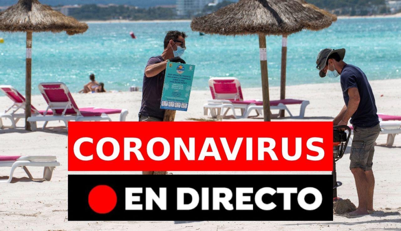 Coronavirus España: Última hora de la vacunación y restricciones tras el fin del estado de alarma, en directo