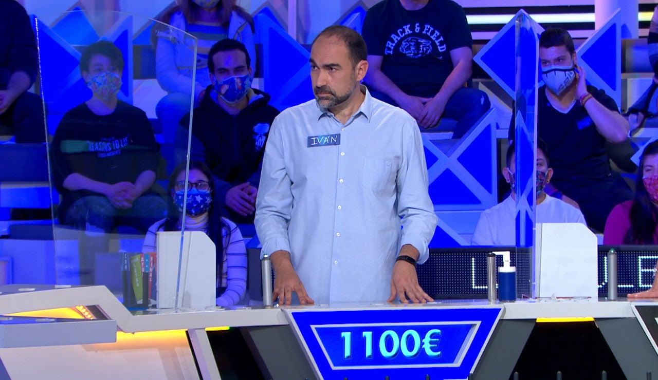 Iván arriesga sus 1.100€ para lograr el súper comodín