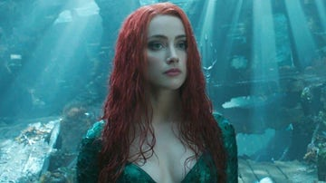 Amber Heard como Mera en 'Aquaman'