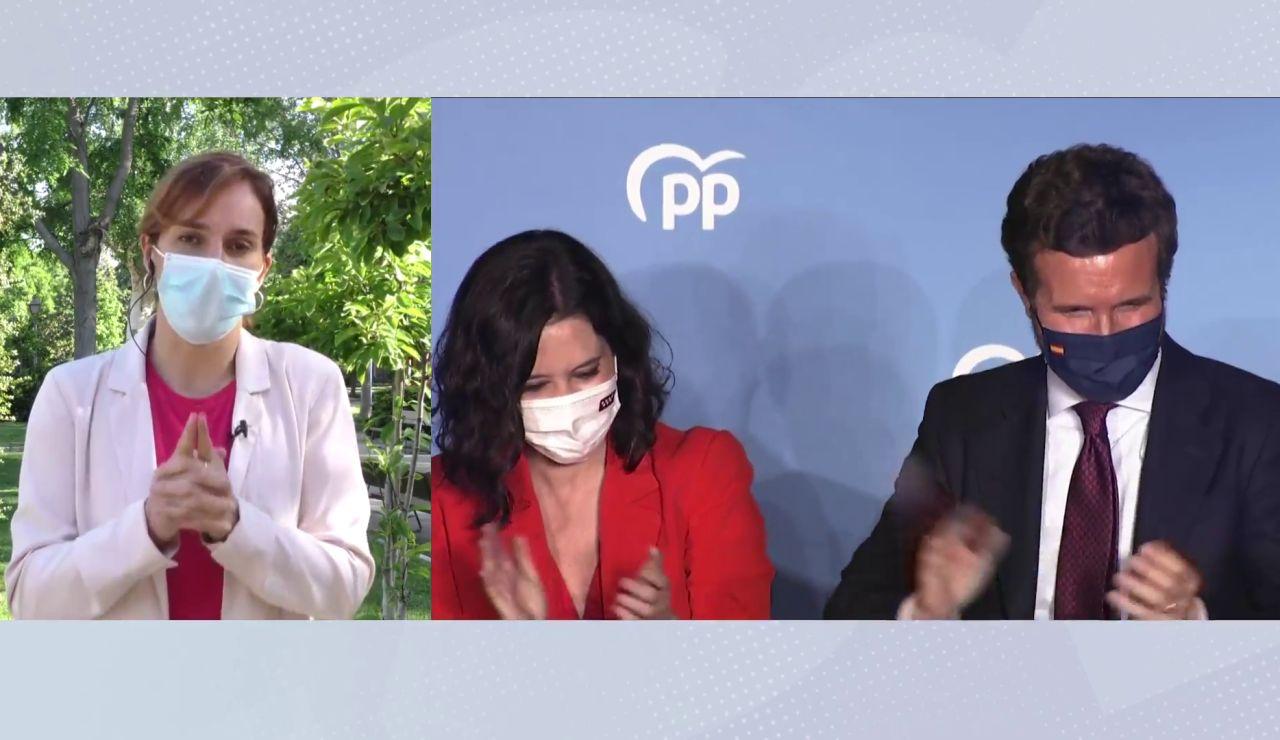 """Mónica García: """"Ayuso ha apagado las alarmas de la pandemia para sacar un rédito político"""""""