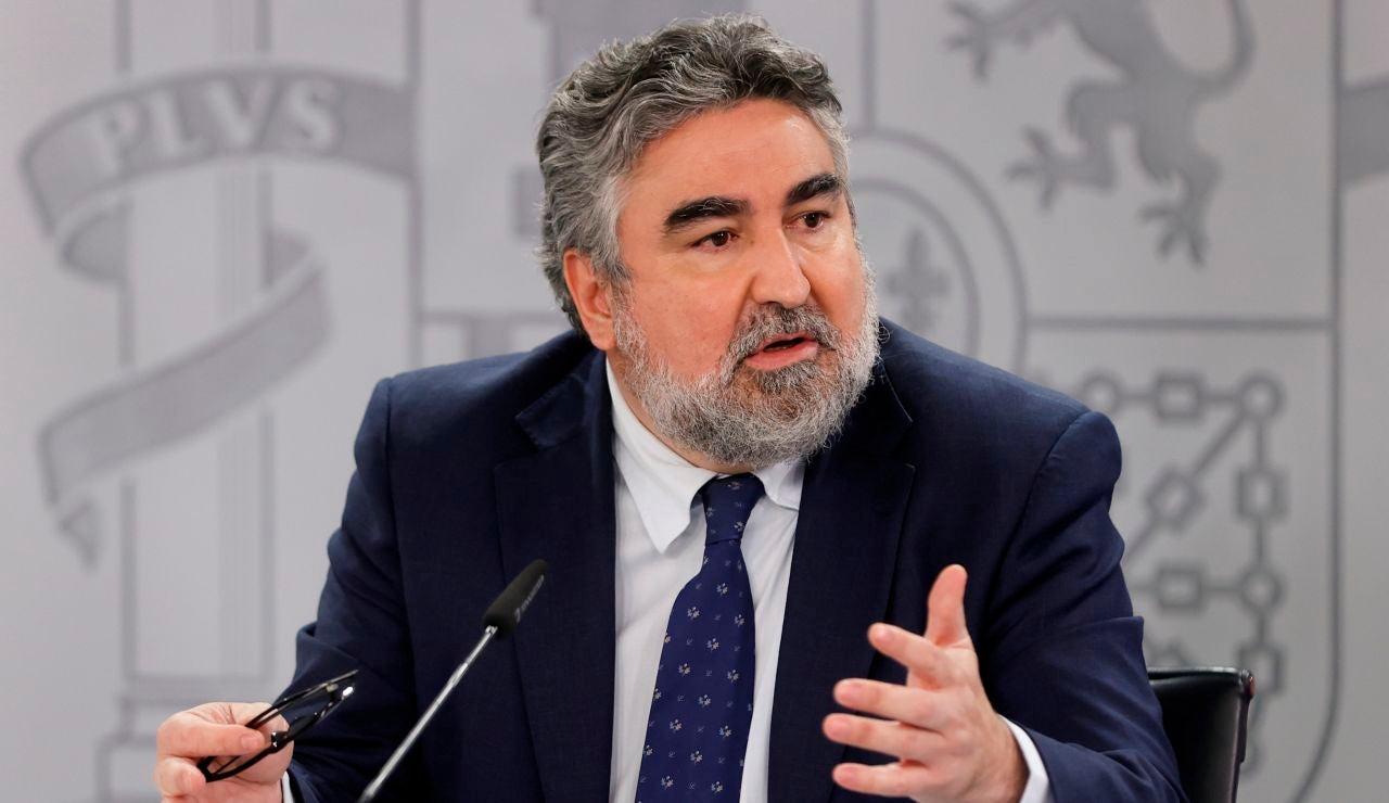 José Manuel Rodríguez Uribes, ministro de Cultura y Deporte