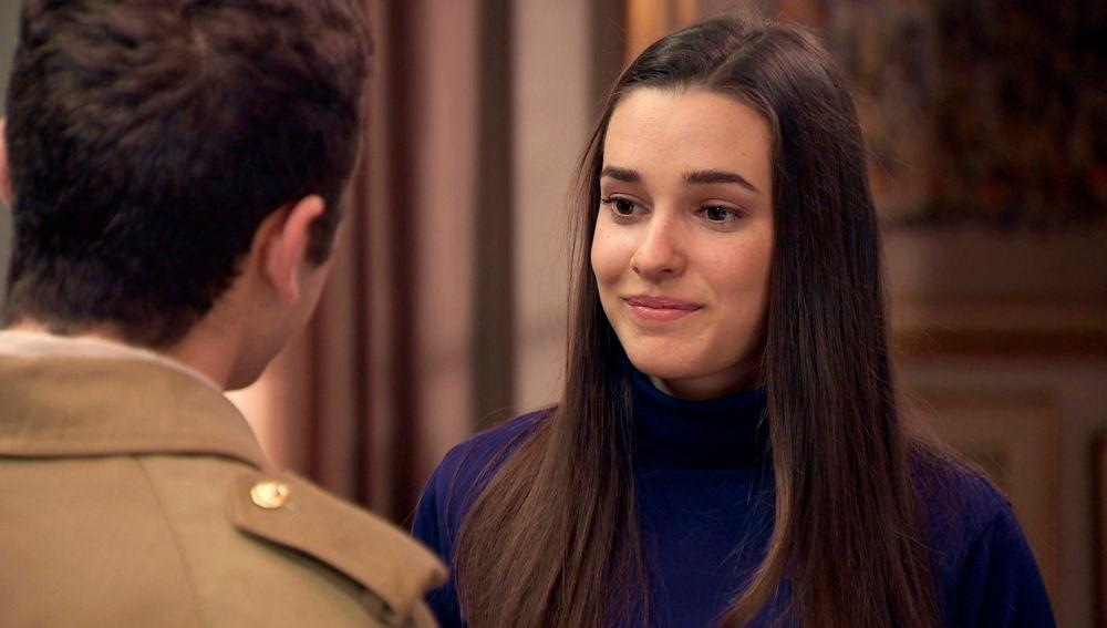 Emma y Manolín prometen no olvidarse tras dar el paso más difícil de sus vidas