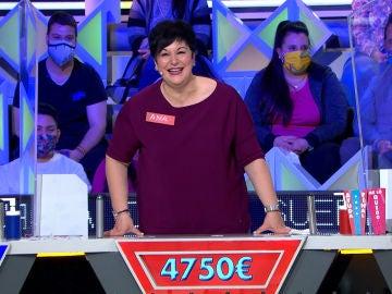 El impecable juego de Ana en 'La ruleta de la suerte'