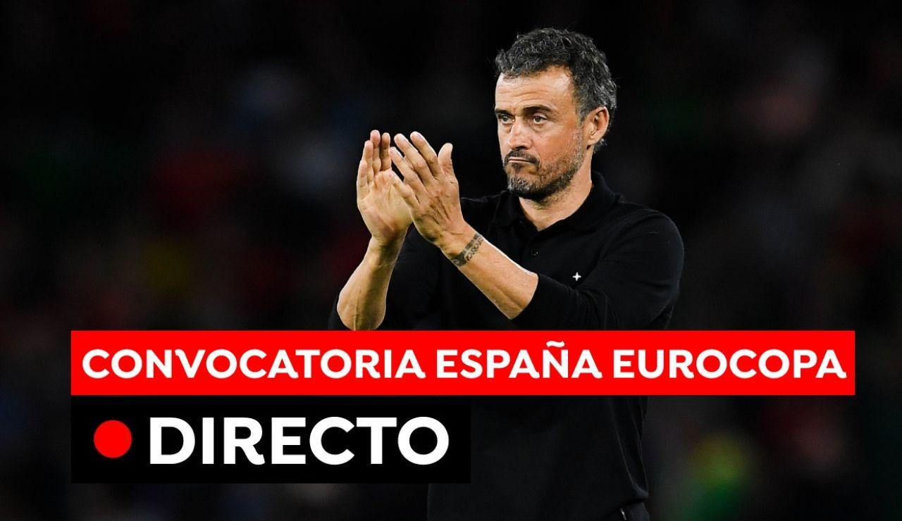 Rueda de prensa de Luis Enrique para anunciar la convocatoria de la Selección Española en la Eurocopa 2021