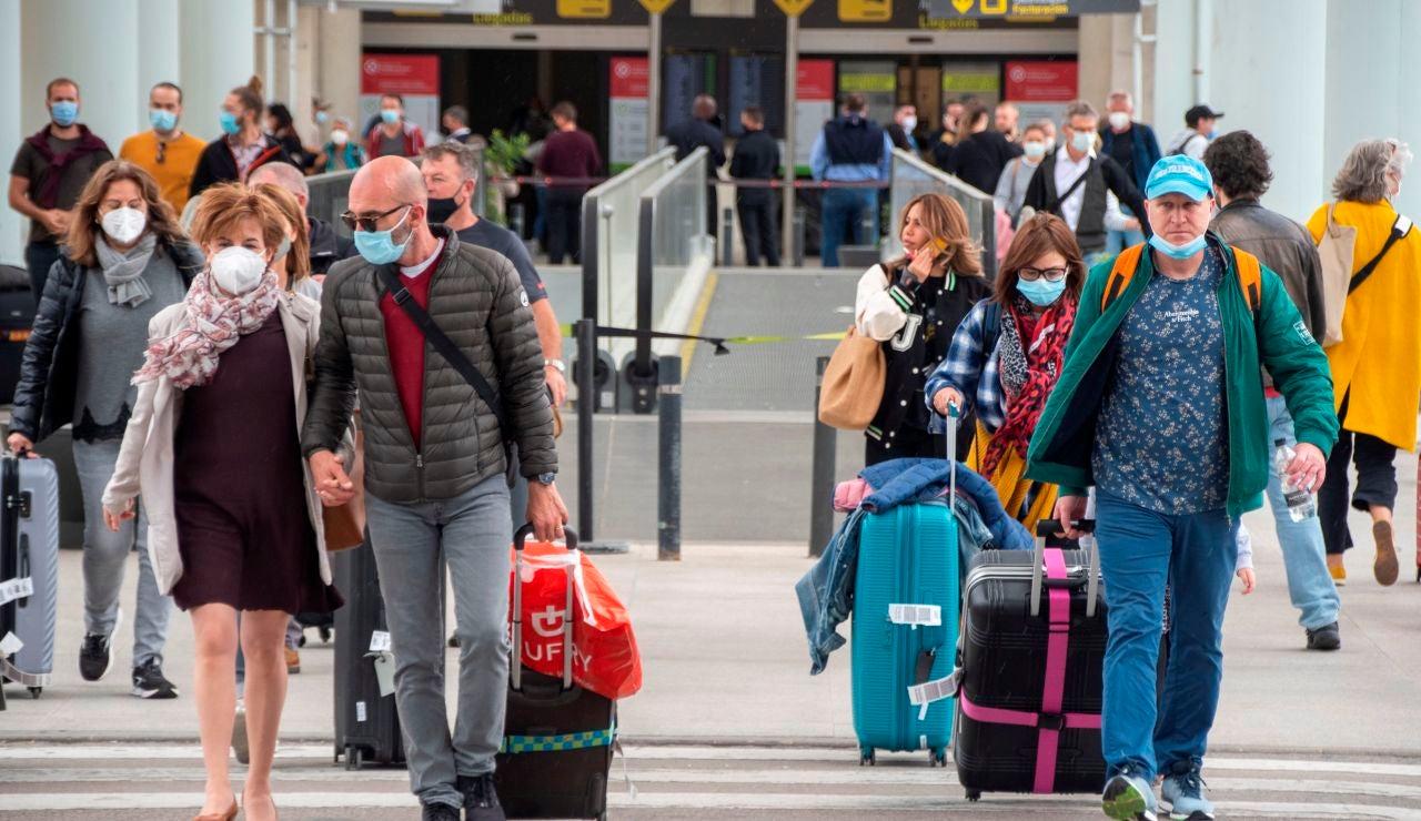 Coronavirus viajeros, aeropuerto