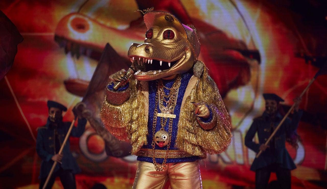 El Cocodrilo se desvive en 'Mask Singer' al ritmo de 'Born in the USA'