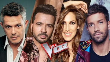 Alejandro Sanz, Luis Fonsi, Malú y Pablo Alborán serán los coaches de la próxima edición de 'La Voz' en Antena 3