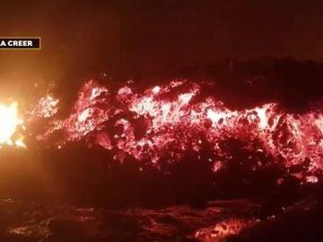 Erupción volcán en el Congo