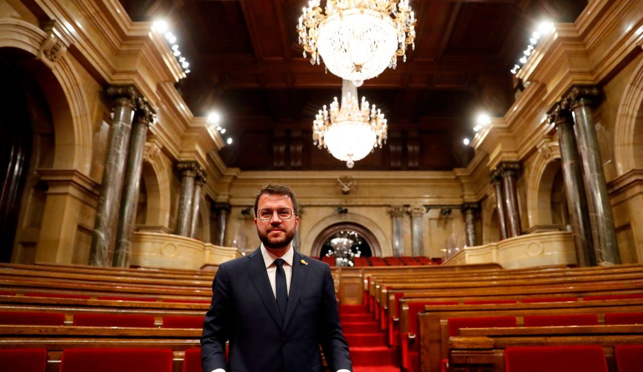 Así será la toma de posesión de Pere Aragonés como presidente de la Generalitat