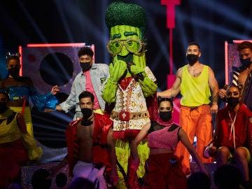 El Cactus se desmelena en 'Mask Singer' con 'Tik Tok' de Ke$ha