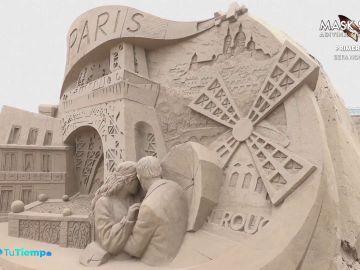 Esculturas de arena en San Petesburgo para hacer turismo sin salir de Rusia
