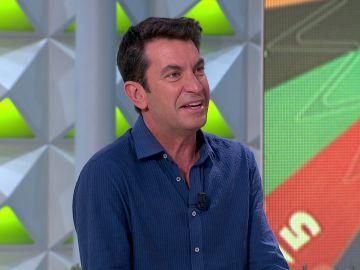 """La aparición sorpresa de Arturo Valls en 'La ruleta de la suerte': """"Mask Singer tiene el mejor casting de la historia"""""""