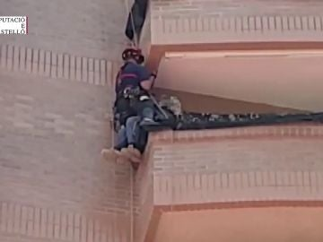 Rescate increíble en Castellón.