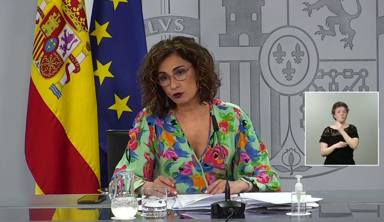 María Jesús Montero, ministra portavoz