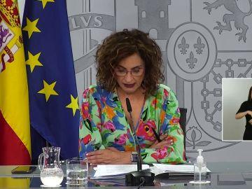 Rueda de prensa tras el Consejo de Ministros de hoy martes 25 de mayo, streaming en directo