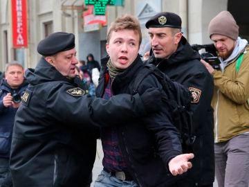 El periodista bielorruso Roman Protasevich