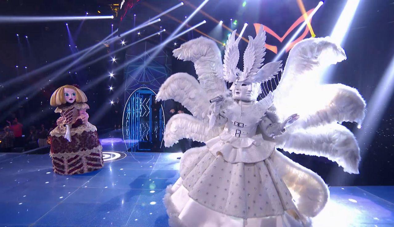 Ángel brilla con el tema 'The time of my life' en el Duelo Final de 'Mask Singer'