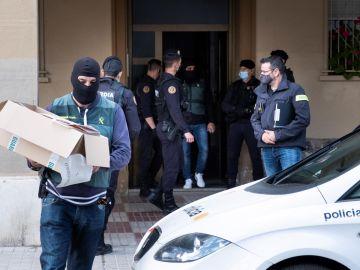 La Policía desmantela una gran red de narcotráfico en Mallorca