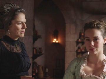"""Úrsula reprenda a Elisa: """"¿Pondrás en juego tu trabajo por tus principios?"""""""