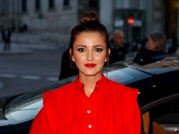 Alexandra Pereira acude a un evento en Madrid