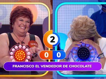 Helena Bianco le regala sus segundos a Teté Delgado al ritmo de 'Paquito el chocolatero'