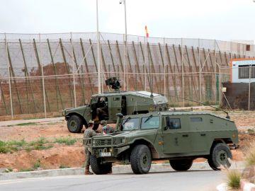 El Ejército, desplegado en Ceuta