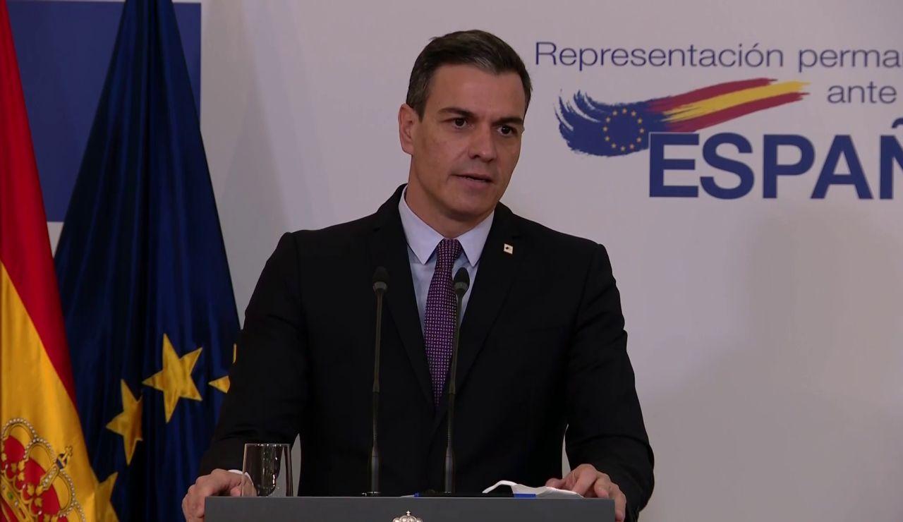 """Pedro Sánchez afirma que los indultos del 'procés' se decidirán en base a la """"concordia"""" y no la """"venganza"""""""