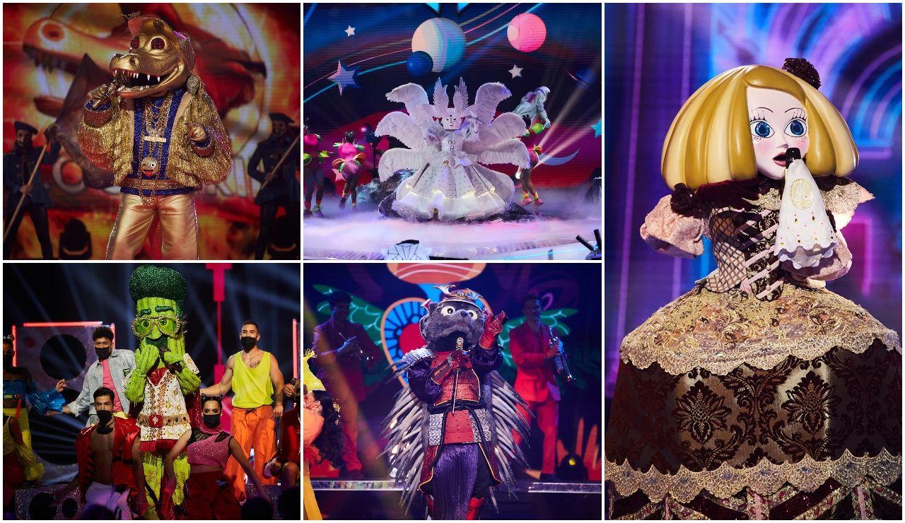 ¿Qué actuación de la Gala 1 de 'Mask Singer' ha sido tu favorita? ¡Vota en nuestro ranking!