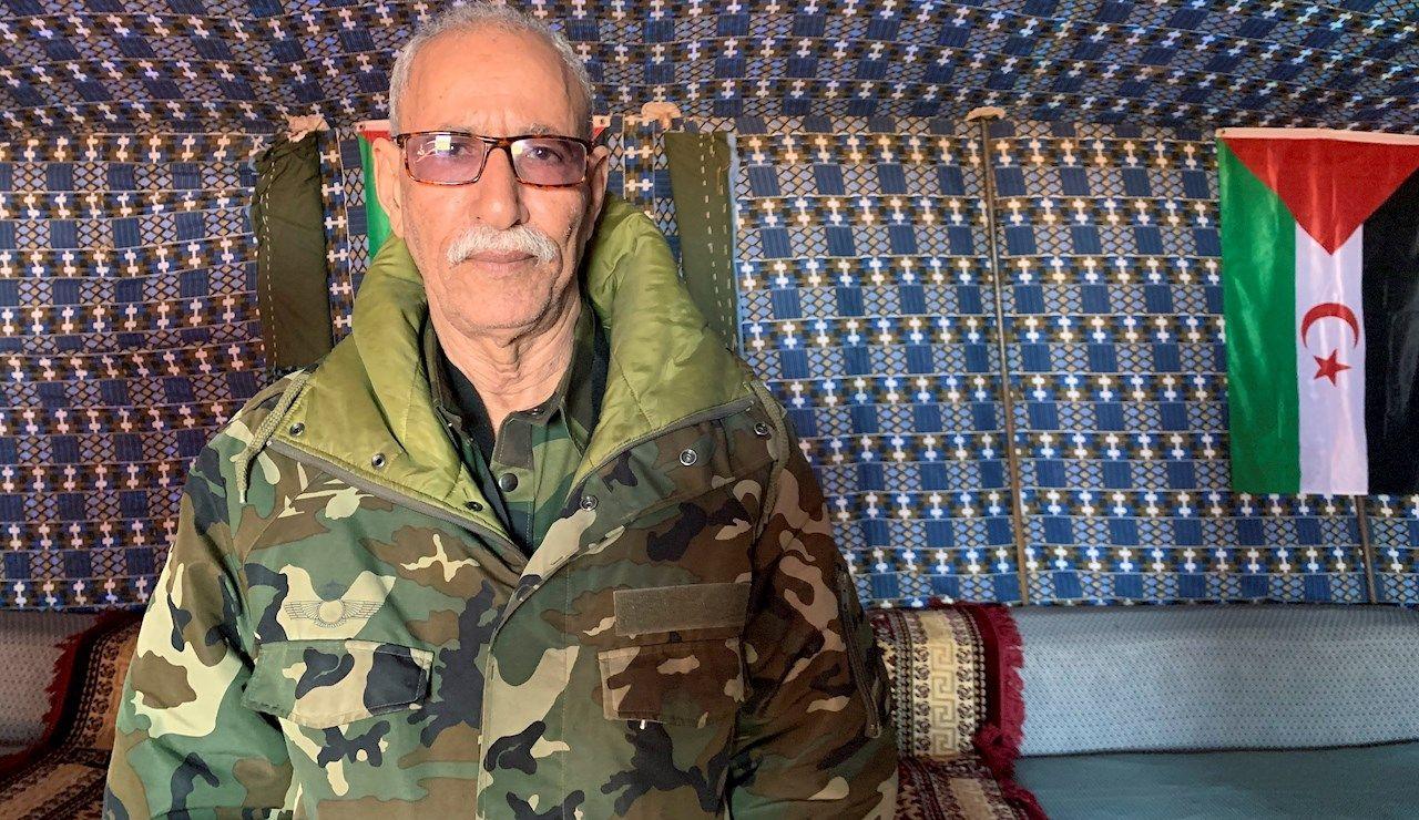 Fotografía de archivo del líder del Frente Polisario y presidente de la República Arabe Democrática Saharaui (RASD), Brahim Ghali