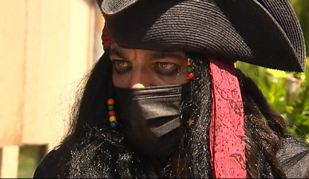 'Jack Sparrow' consigue casarse en Vigo