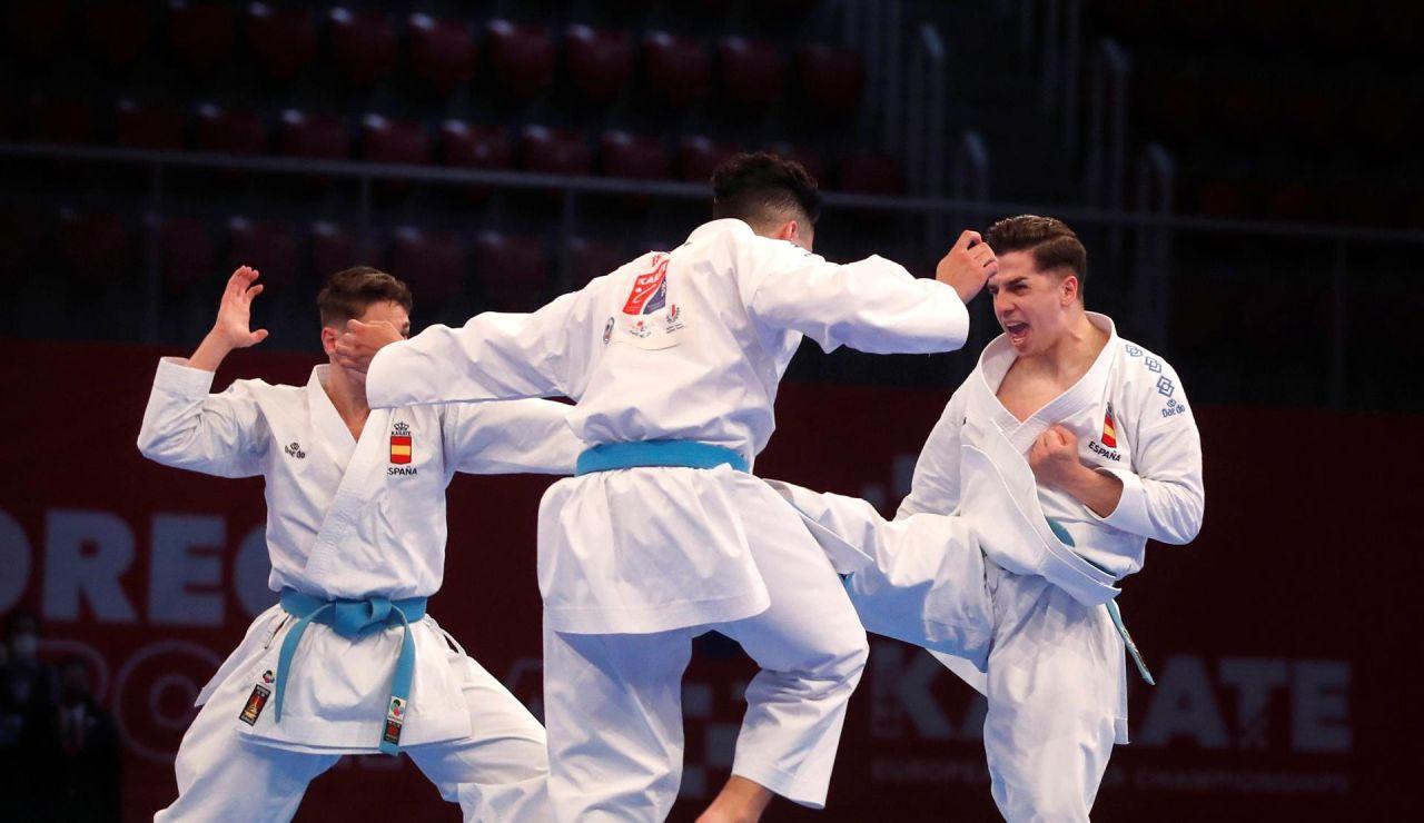 """Los karatecas se pueden quedar sin Juegos por su plante en el Europeo: """"Nos llamaron subnormales y mediocres"""""""