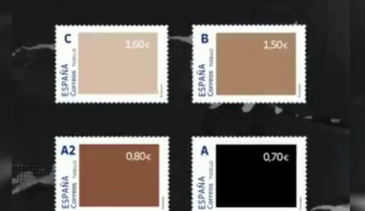 La colección de sellos de Correos contra el racismo que ha desatado una oleada de memes